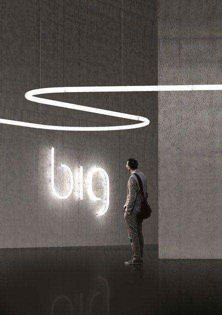 led wall mounted light letter alphabet of light by artemide light