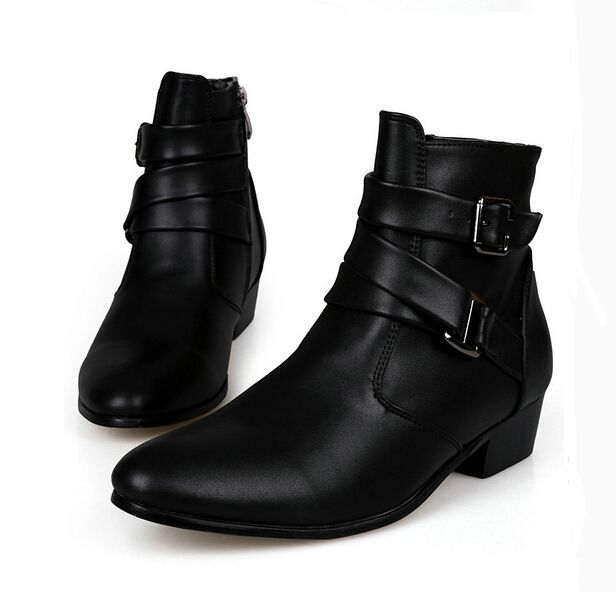 96e145a67a0b0 Resultado de imagen para botas con tacon para hombre