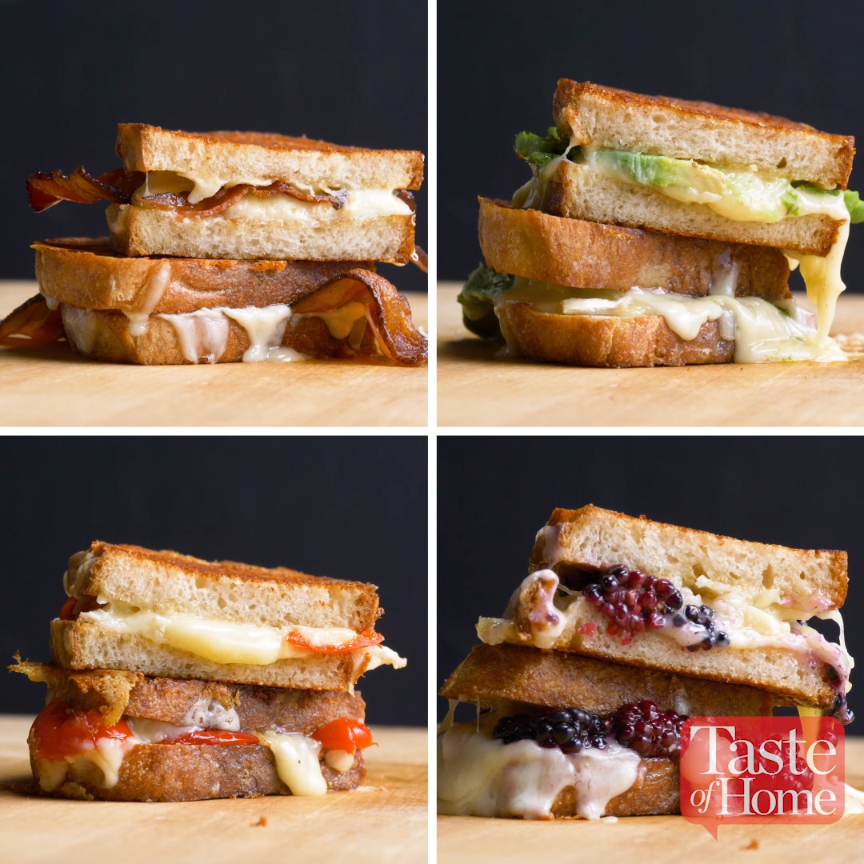 Photo of Best Ever Grilled Cheese Sandwiches