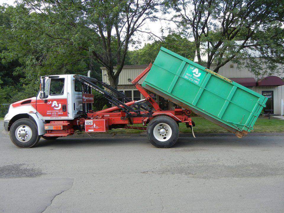 Aj Waste Systems Ajwastesystems Dumpster Rental Meriden System