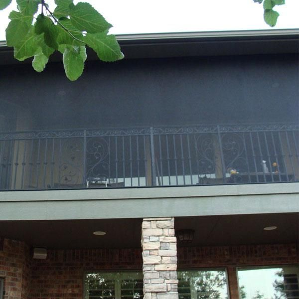 Screened Porch And Garage Oasis: Screen Image Gallery - SCREENEZE