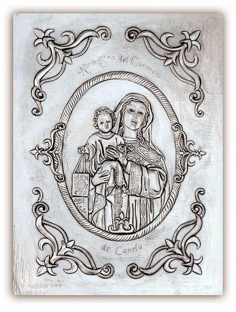 ArteyMetal: Virgen de Canela. Ayamonte