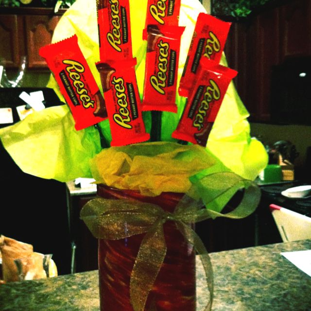 Reese's bouquet!