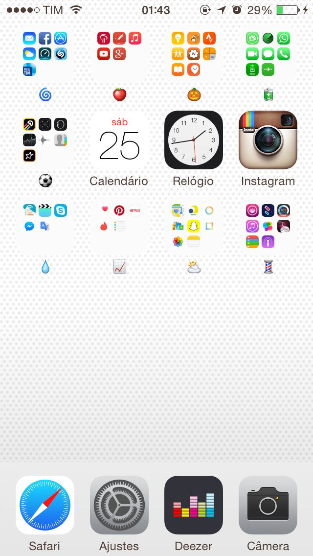 Organization iPhone Apps for colors Pantalla de iphone
