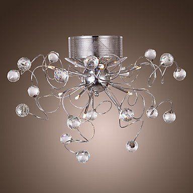 Lampadario Di Cristallo Moderno Con 9 Luci Amazon It Illuminazione Lampadario Di Cristallo Illuminazione Soffitto Lampadari Cristallo