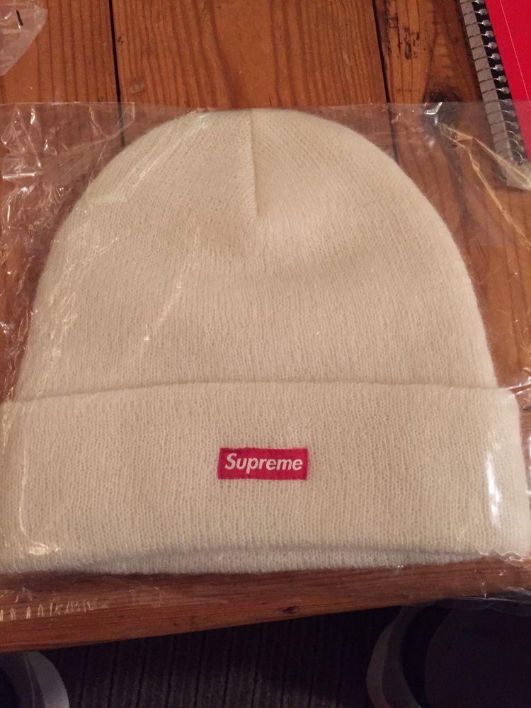 bfbf51414f2 Supreme Mohair Beanie New Natural White FW18  fashion  clothing  shoes   accessories  mensaccessories  hats (ebay link)
