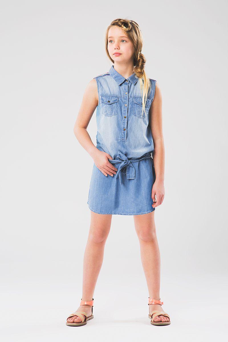 L\'incontournable #robe en #jeans - www.shop-orchestra.com   Girl ...