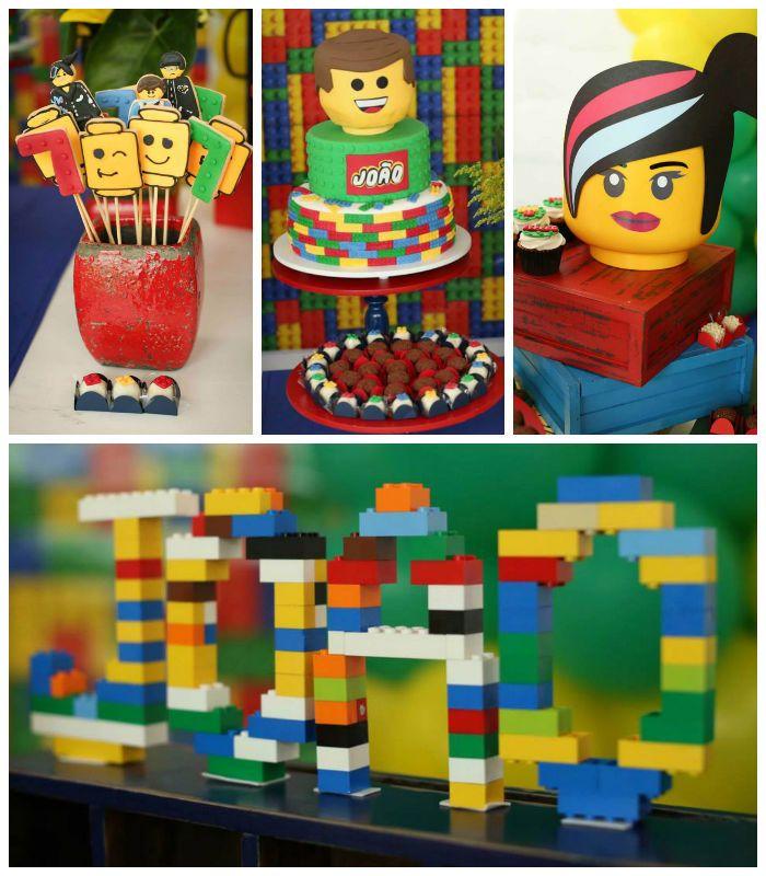 Lego Movie birthday party lego bday Pinterest Lego movie