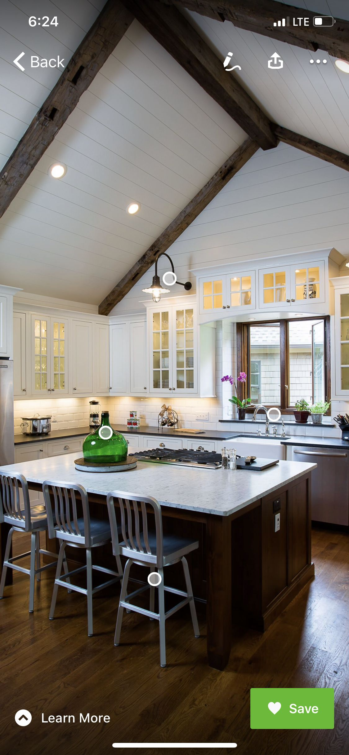 pin by susan sieja on 1154 ashland vaulted ceiling kitchen rustic kitchen kitchen ceiling on kitchen cabinets vaulted ceiling id=56884