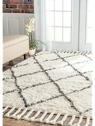 Nuloom Venice Collection 100 Percent Wool Area Rug 5 Feet By 8 Feet