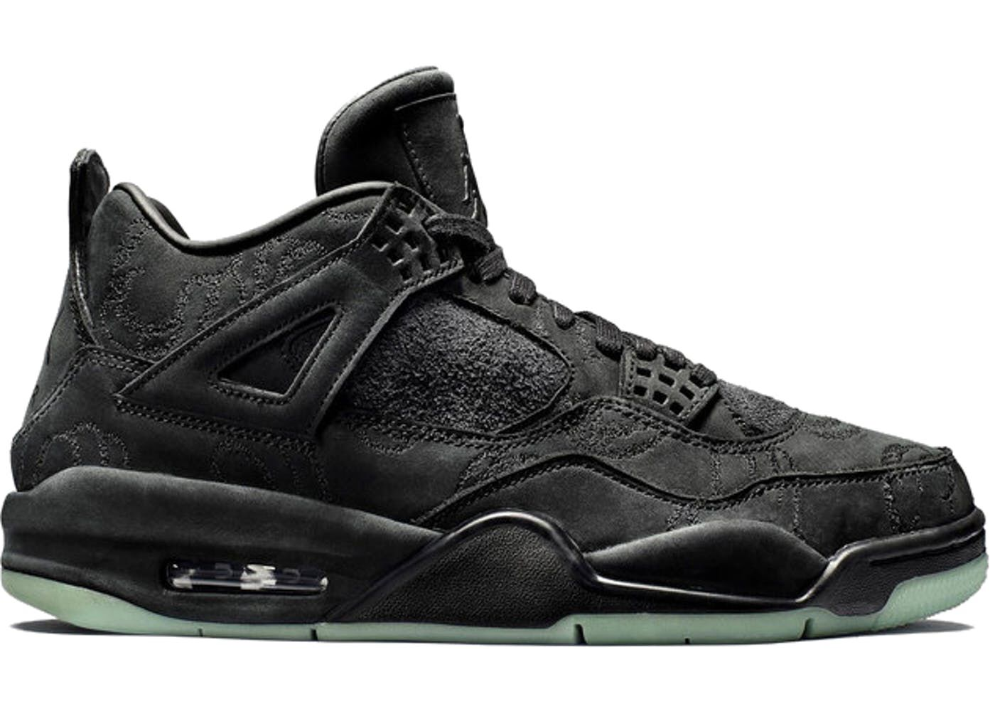 31ac50bd Check out the Jordan 4 Retro Kaws Black available on StockX | Shoes ...