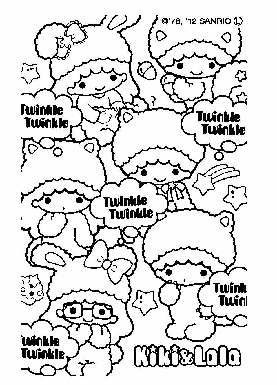 サンリオキャラクター塗り絵ブック Hashtag On Twitter