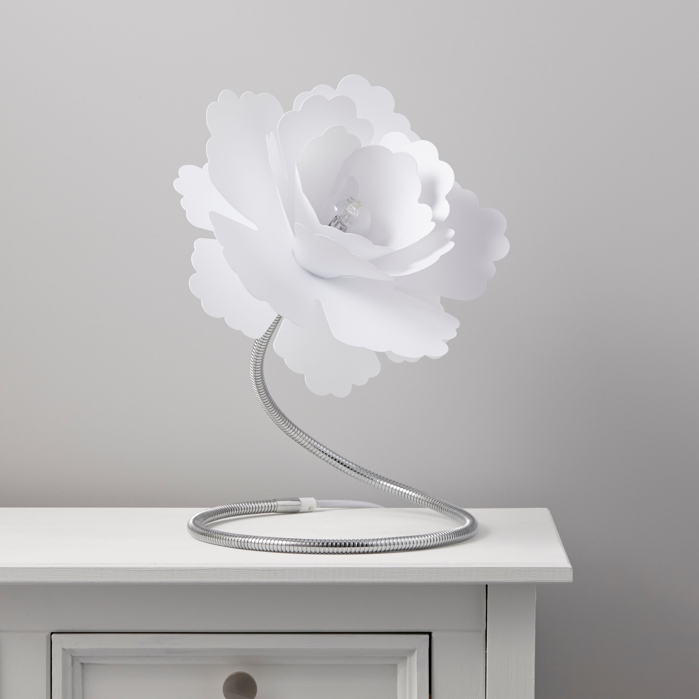 Paloma Flower White Table Lamp Lamparas Pinterest Table Lamp