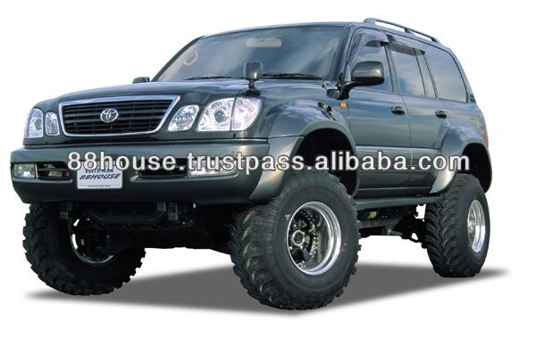 Aftermarket Parts Supplier Direct From Japan Toyota Land Cruiser 100 Fender Flares Lc200 Lc100 Lc80 Toyota Land Cruiser 100 Aftermarket Parts Land Cruiser