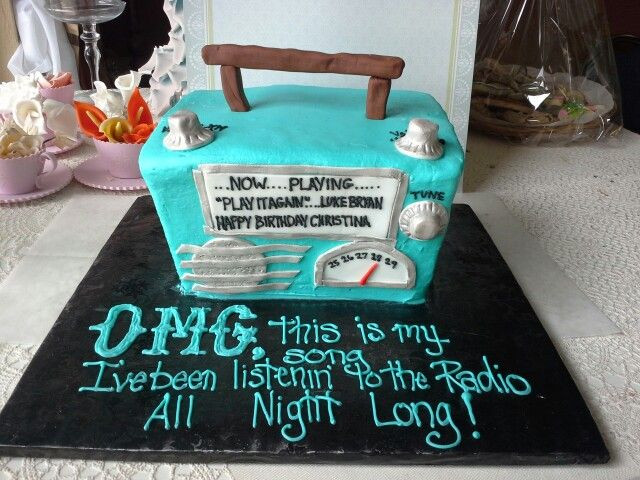 Luke Bryan Omg This Is My Song Cake Made By Pastry Chef Yolanda