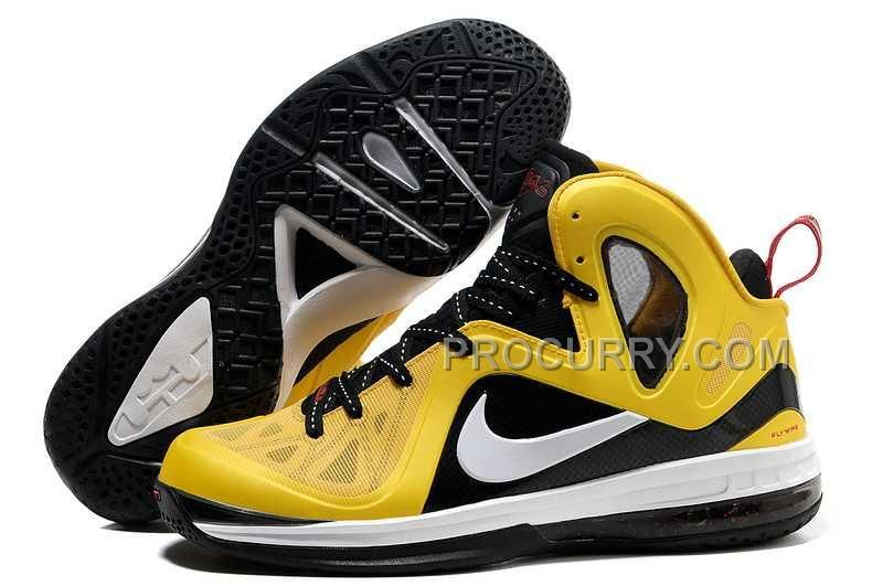 finest selection f300c fbe0a Nike Lebron 9 P.S. Elite Mens Yellow Black   Pinterest   Nike lebron, Yellow  black and Ps