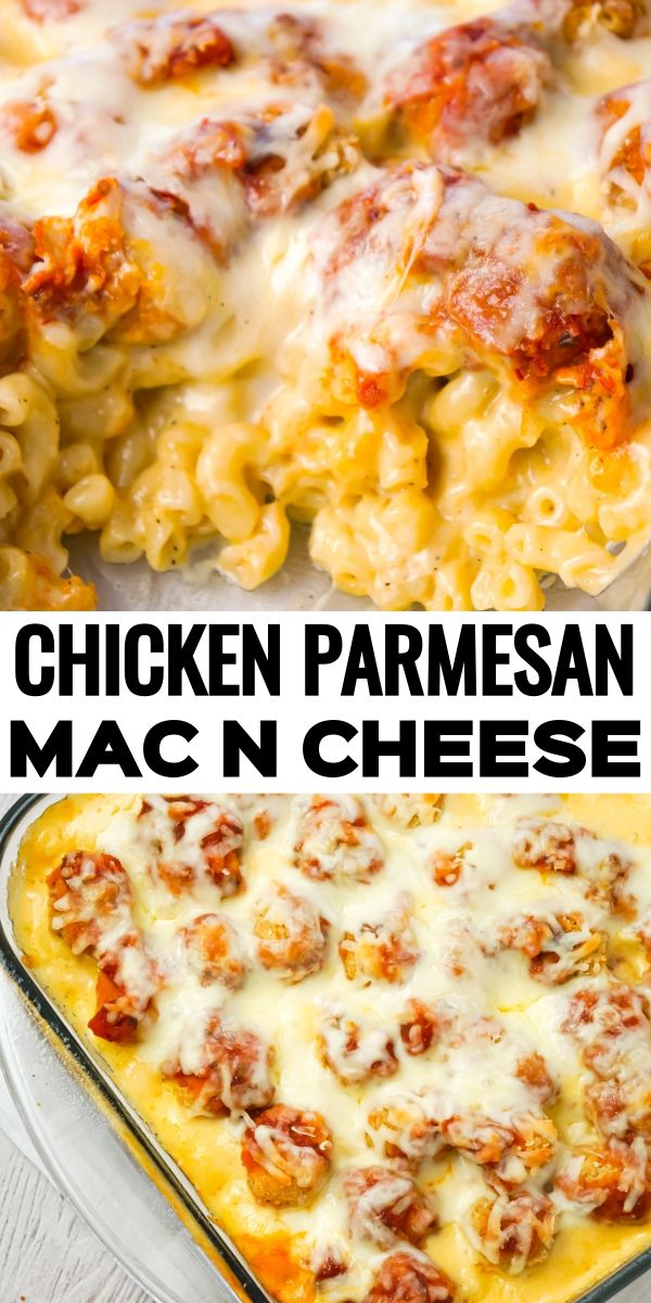Chicken Parmesan Mac and Cheese - This is Not Diet Food