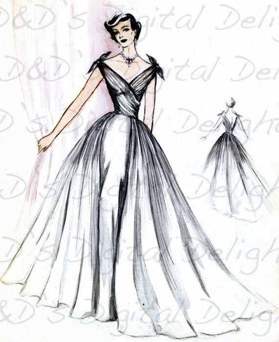 Vintage Fashion Illustration Be Inspirational Mz Manerz Being Well Dressed Is A Beautiful Form Fashion Illustration Vintage Fashion Drawing Fashion Design