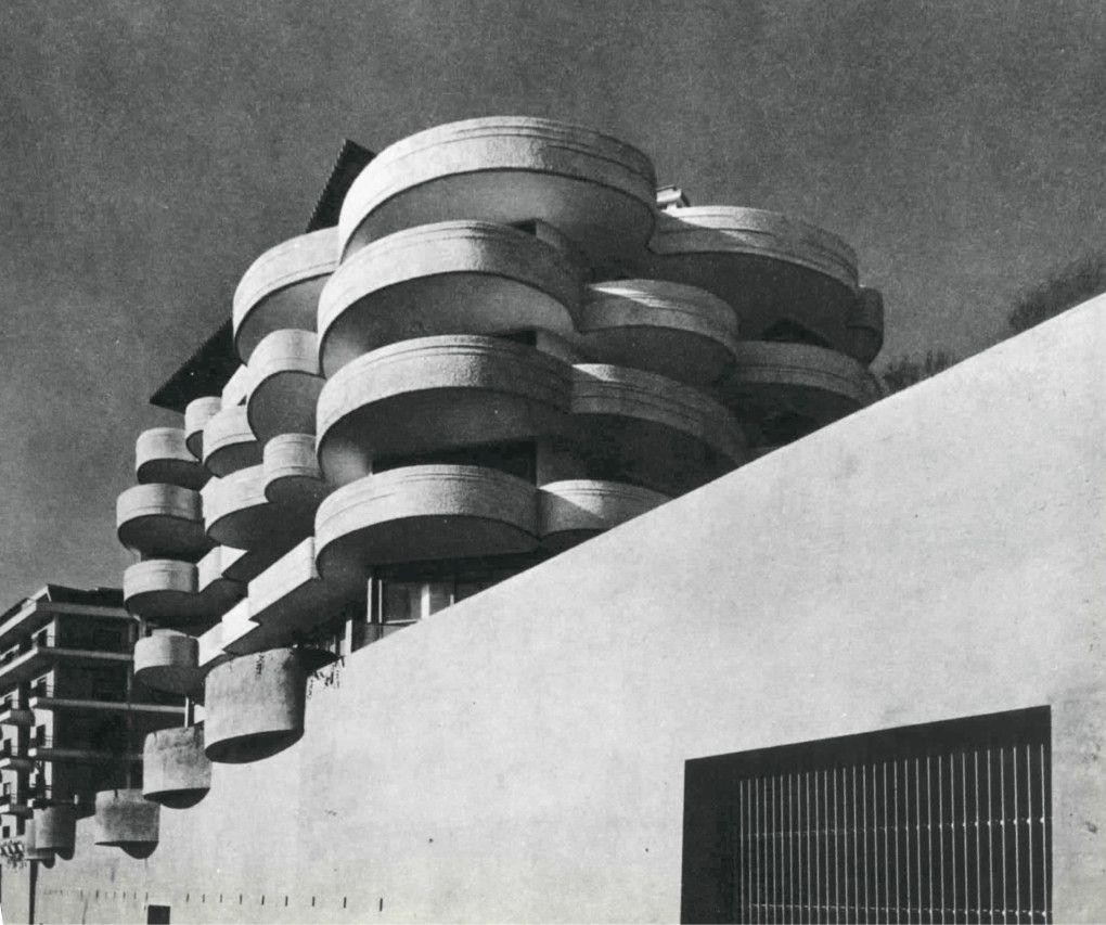 Luigi moretti palazzina san maurizio roma 1962 for Architettura e design roma