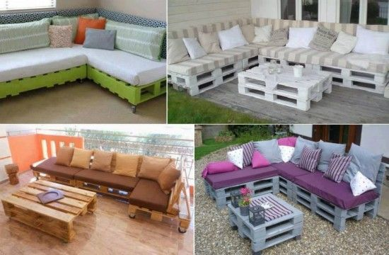 Pallet Lounge Suite Easy Video Instructions Lots Of Ideas Pallet