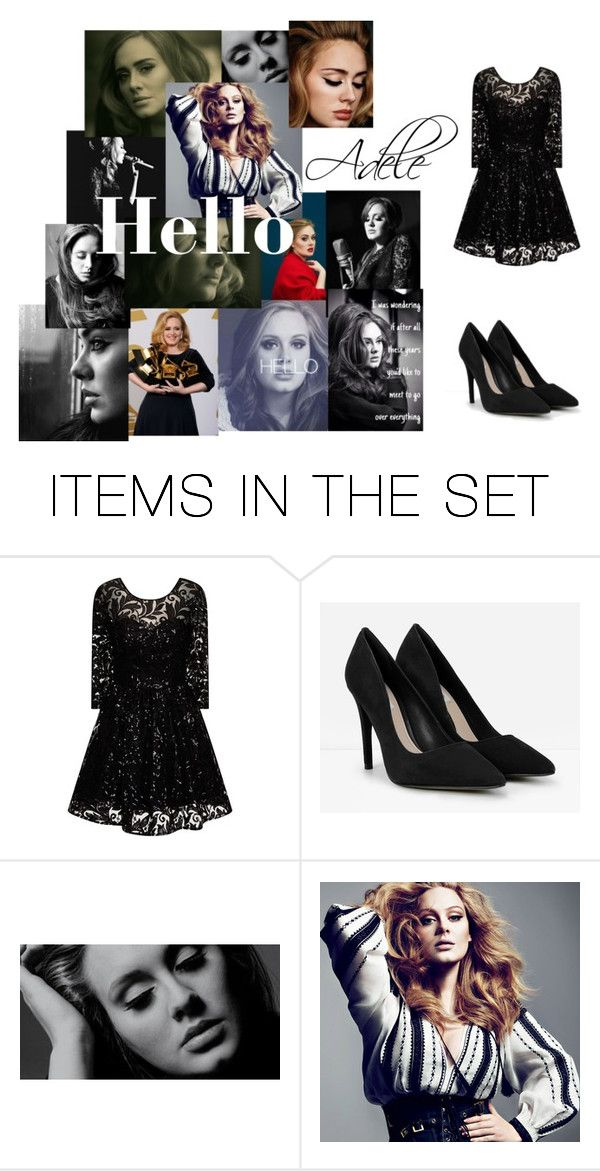 """""""Adele"""" by emily-croft02 ❤ liked on Polyvore featuring art"""