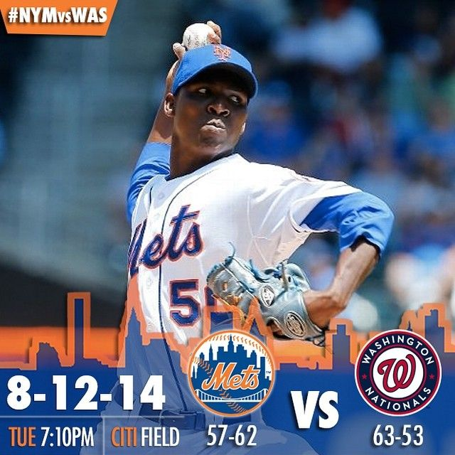 A big three-game series vs the Nationals starts tonight!  Rafael Montero will make the start.  #LGM #Mets #Padgram
