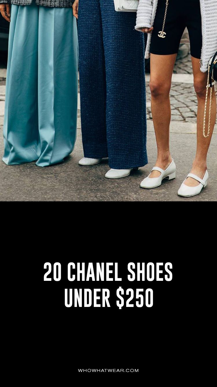 711333a0 20 Chanel Shoes That Are Somehow Under $250 | Fashion in 2019 ...