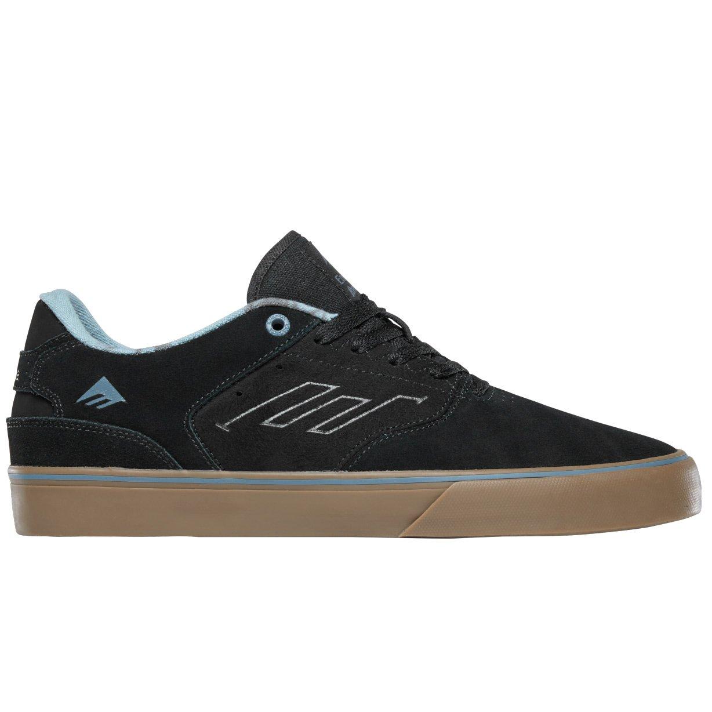 Emerica Footwear Reynolds Low Vulc Black Olive Black Skate Shoes