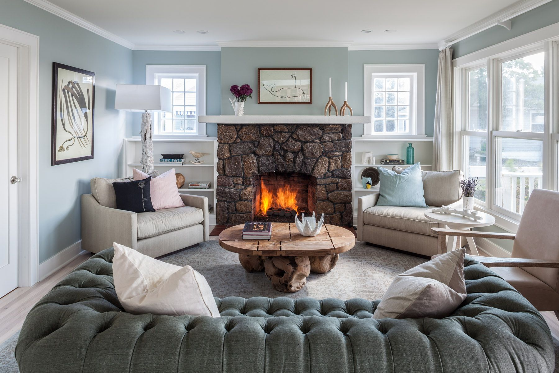 Top NYC Interior Design Firm Creates Stunning Home In The Hamptons Interior  Design   Family Living