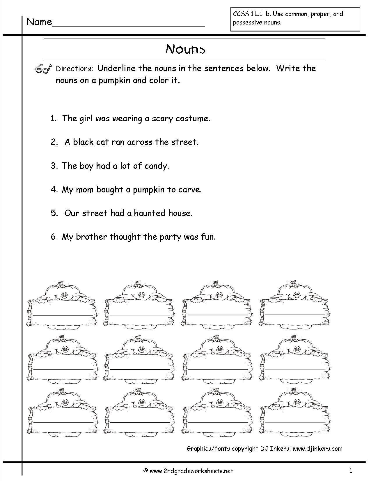 Possessive Nouns Worksheet 6th Grade Singular Possessive