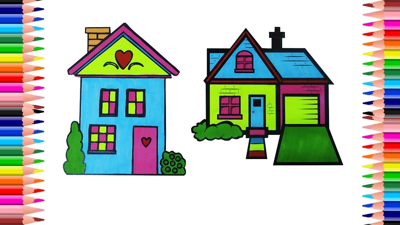 Pin By Mary Creative On Coloring Pages Pinterest House