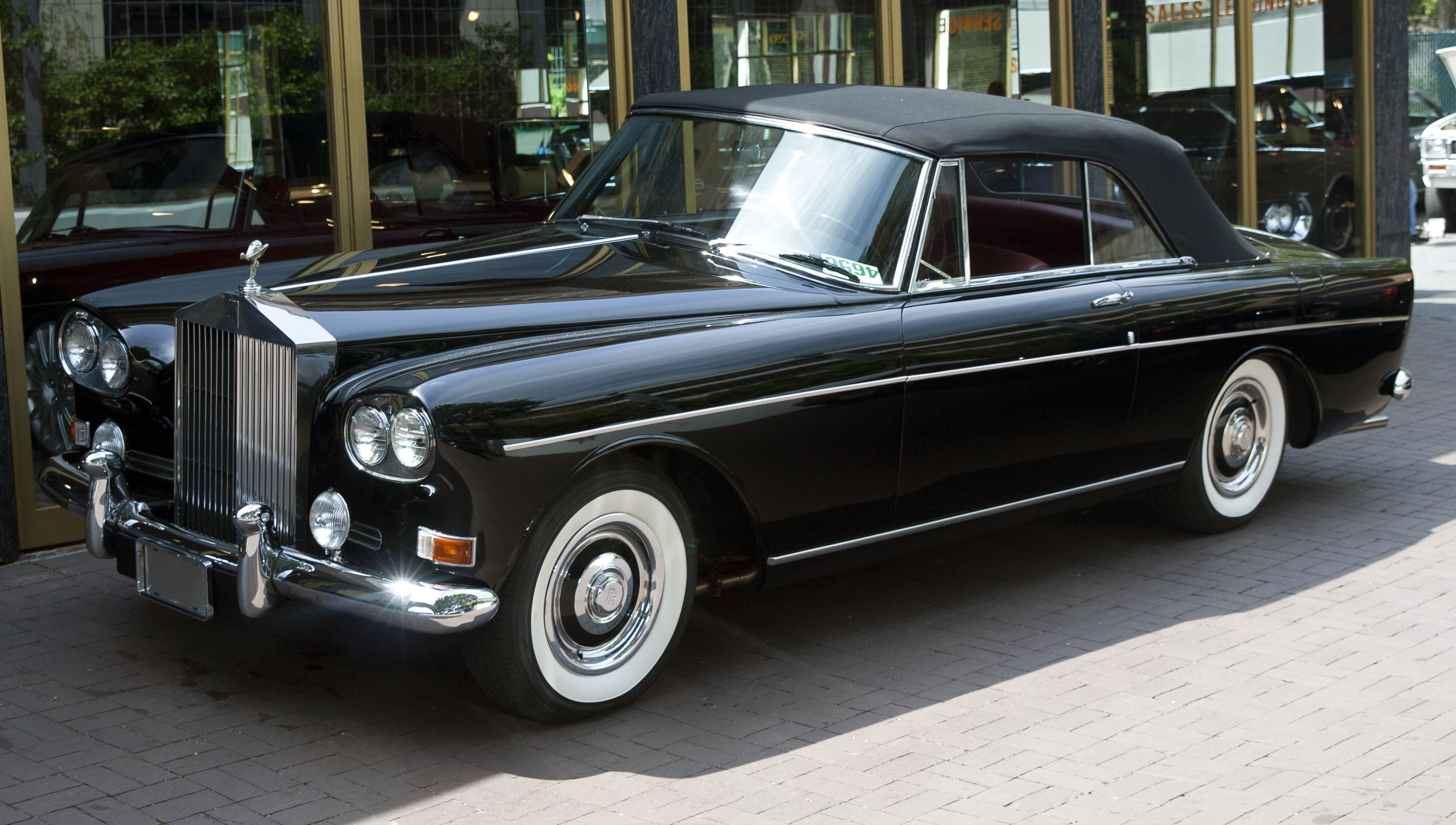 1966 rolls royce silver cloud iii convertible