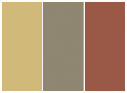 Benjamin Moore Sulfur Yellow 2151 40 Copley Gray Hc 104 Georgian Brick Hc 50 Color