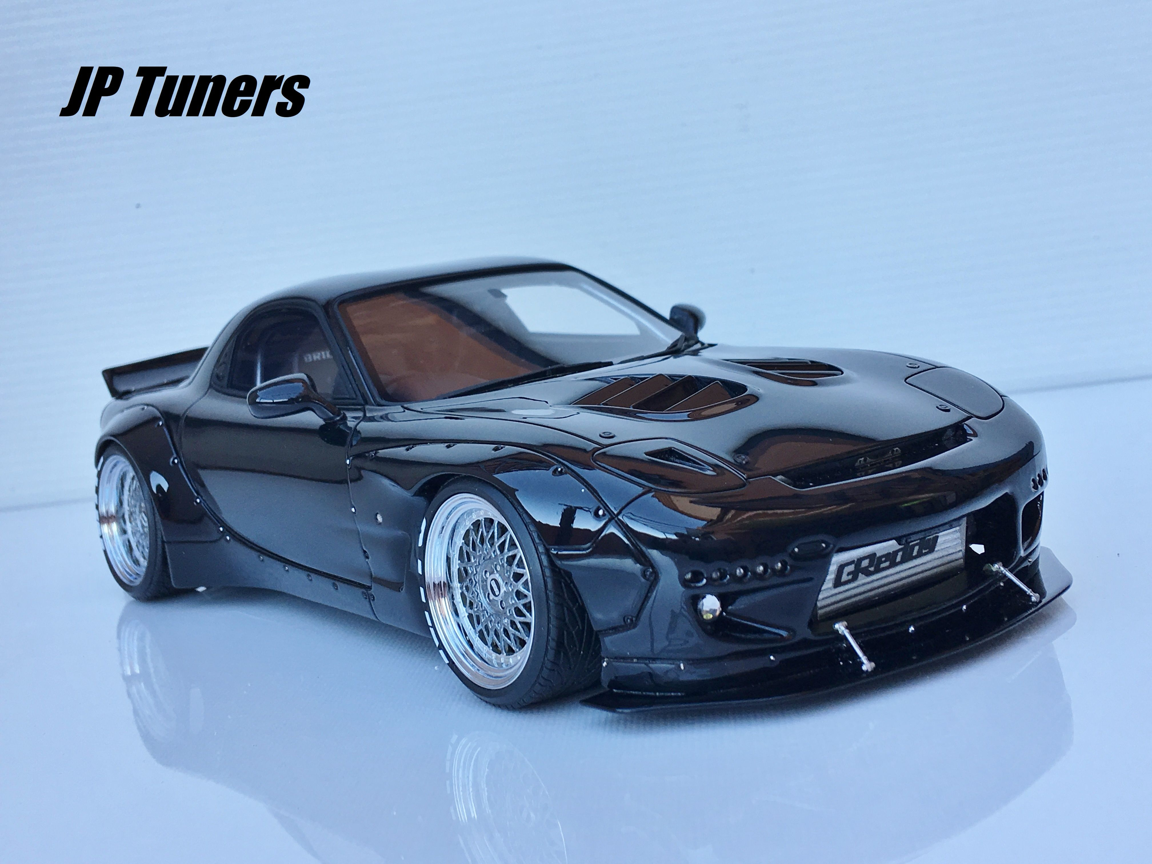 download wallpapers rocket bunny tuning mazda rx7 t. Black Bedroom Furniture Sets. Home Design Ideas