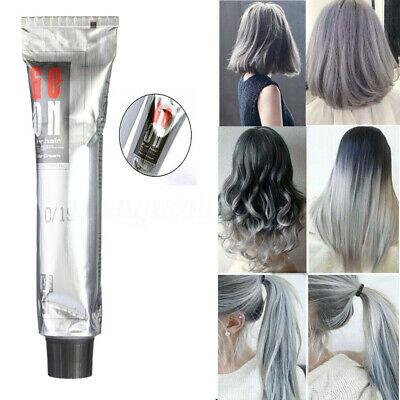 Grannyhair Light Gray Color Hair Permanent Dye Cream 100ml Hair Dye Bowl Ebay In 2020 Dyed Hair Hair Dye Colors Light Hair Color