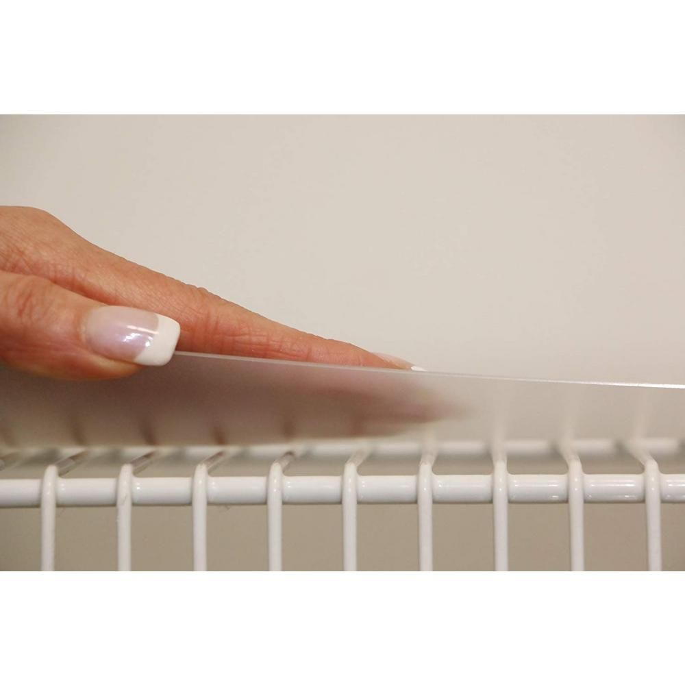Sterling Shelf Liners 12 in. x 48 in. Closet Liner (set of ...