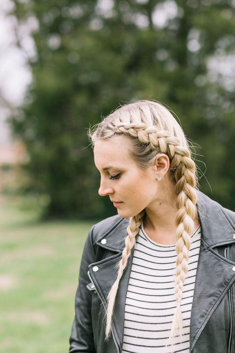 nos idées de looks pour une coiffure femme avec tresses boxer braids (natte  boxeuse), c'est par ici !