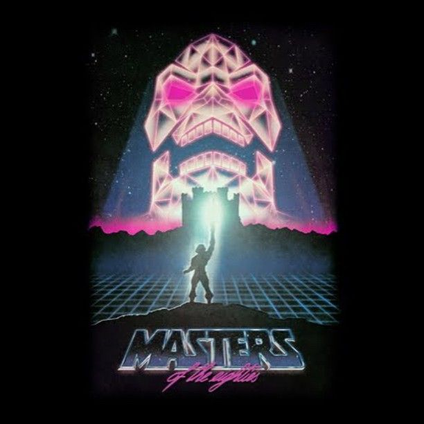 Masters of the Eighties #threadless #motu #shirtoftheday