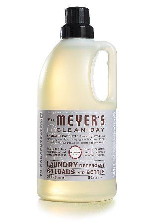 Mrs Meyer S Clean Day Laundry Detergent 64 Loads Lavender Scent