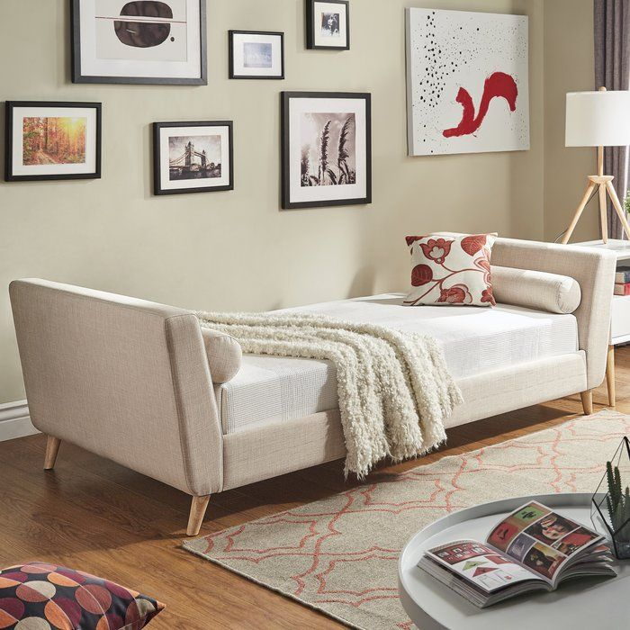 Add contemporary style to your place with the Cunniff Daybed and