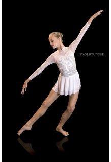 Splendor White Dance Costume Lyrical 69 Jazz Tap Www Au