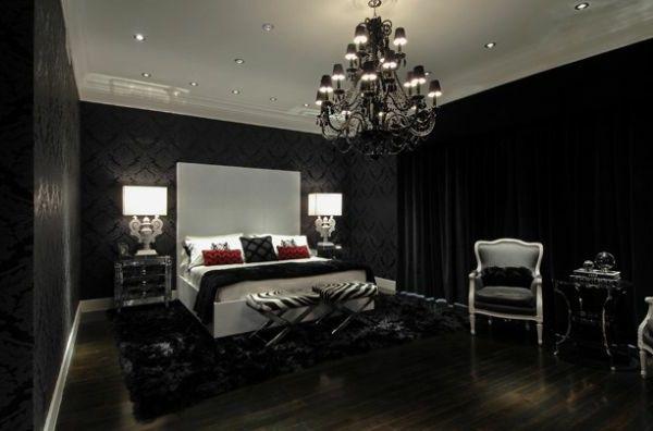 Genial schwarzes schlafzimmer Deutsche Deko Pinterest Gothic