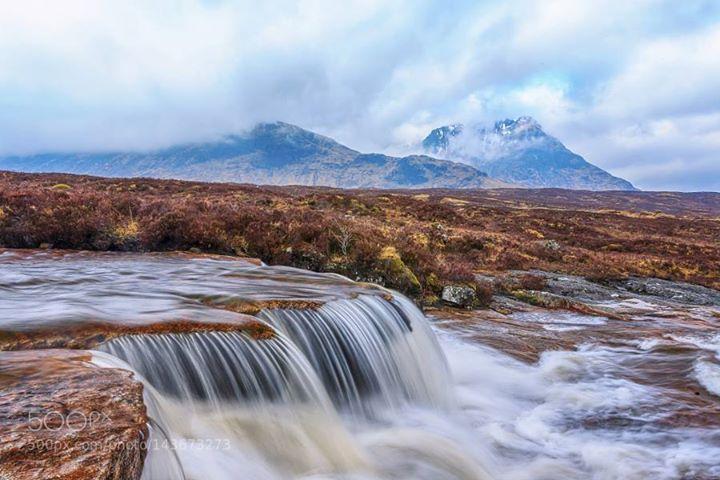 Glencoe Scotland http://ift.tt/21gGzoB WaterfallScotlandGlencoeKings House Hotel
