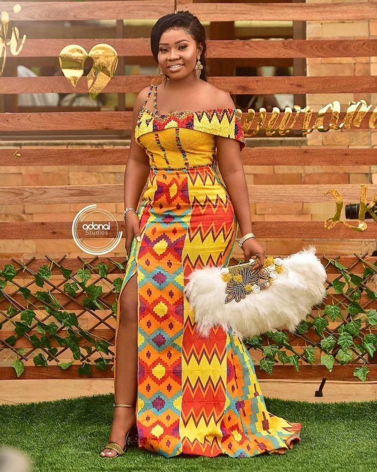 60 Beautiful Ankara Long Gown Styles Design 2020 Thrivenaija African Design Dresses African Fashion Dresses African Print Fashion Dresses