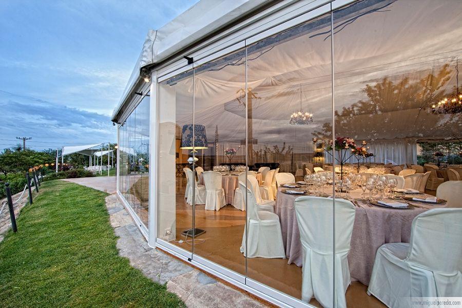 Cortinas de vidrio arcos carpas y p rgolas wedding archs pinterest vidrio cortinas y carpa - Carpas y pergolas ...