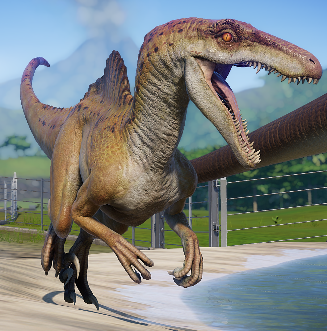 Spinoraptor Jurassic world, Jurassic park world