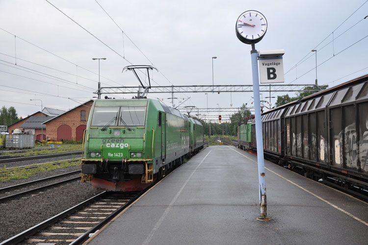 Green Cargo Train Railway Locomotive