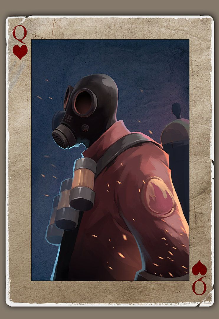 TF2 Poker Pyro by biggreenpepper on DeviantArt – Tf2 Birthday Card