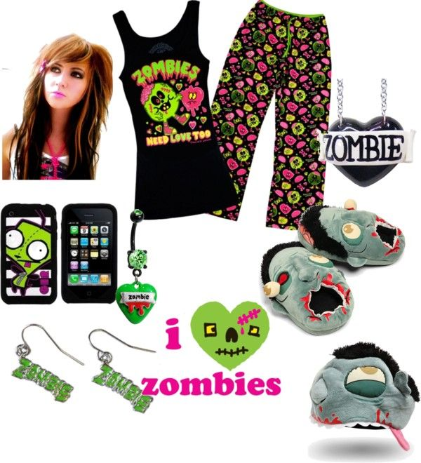 """""""zombie's are coming!!!!!!!!!!!!!"""" by hellokitting on Polyvore"""