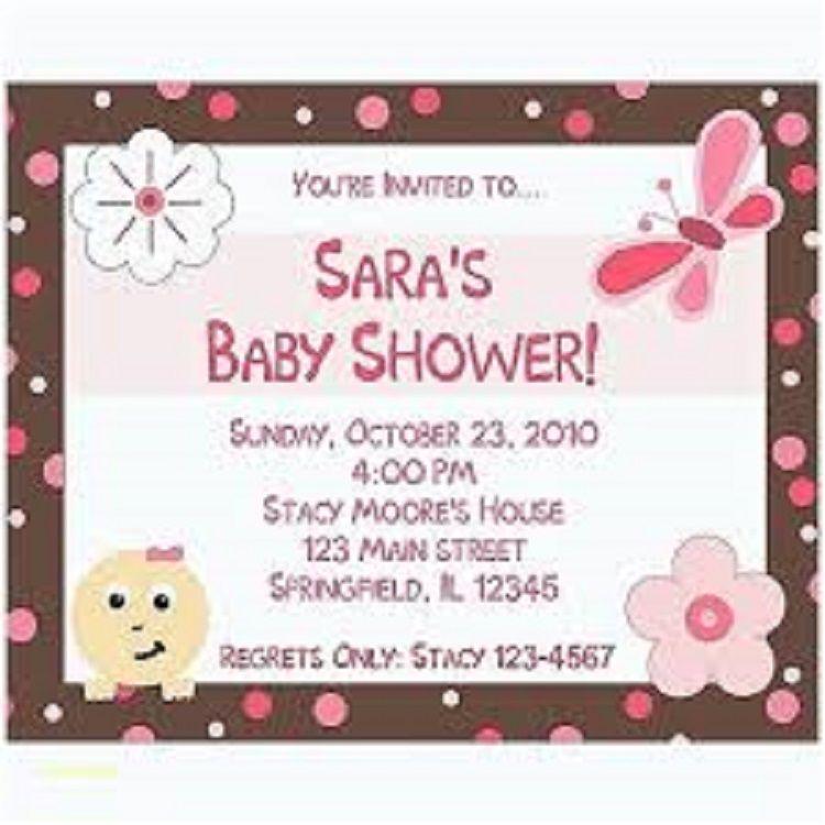 Custom Baby Shower Invitations Walmart Online Birthday